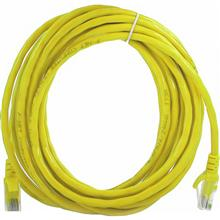 D-Link NCB-C6UYELR1-10 CAT6 UTP Round Patch Cord 24AWG Network Cable 10m